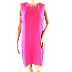 Cynthia Rowley Hot Pink 100% Silk Dress